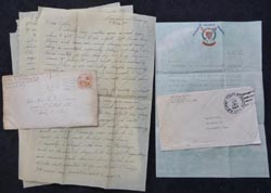 WW2 GI Letters Home - V-E Day, 11th Airborne, German POW's, etc