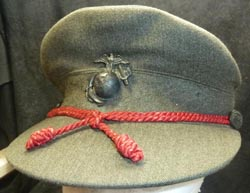 WW2 Marine Corps Women's Reserve Bell Crown Hat - Wool Version